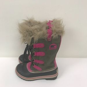 Sorel Girls Joan of Arctic boots size 1